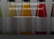 No one likes labels… unless it comes to food